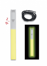 "Light stick 6"" whistle. Yellow"
