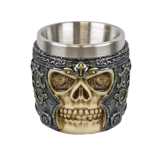 Decoration cup Skull 6 cm