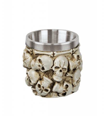 Decoration cup Skulls 6 cm