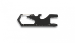 Multi tool card with carabiner