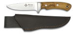 Cuchillo CAZA.Olivo. Made in Spain.funda