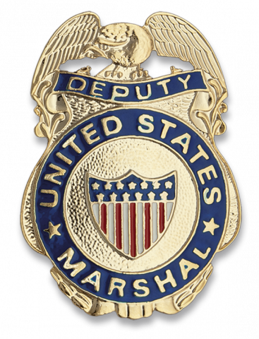 Chapa cartera US MARSHAL