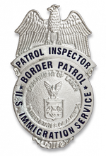 Badge for wallet US PATROL INSPECTOR