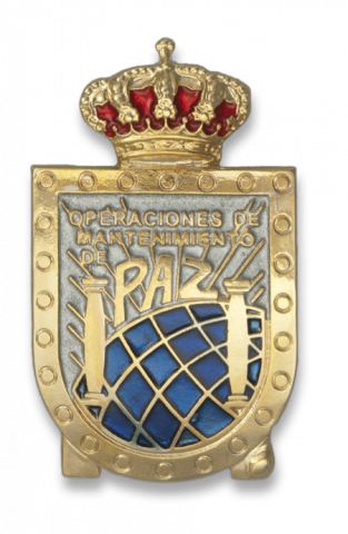 Badge PERMANENCIA MISION DE PAZ