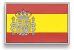 Tactical patch. Rubber. Spanish flag