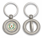 Key ring. Oval and rotatory