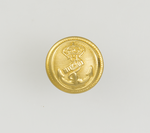 Metal button for uniform. ARMADA