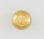 Metal button for uniform. CASA REAL
