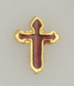 Mini pin. CRUZ DE SANTIAGO. Gold