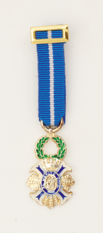 Medal miniature CRUZ MERITO CIVIL