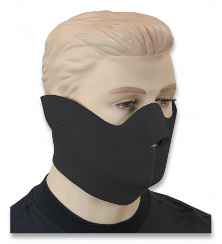 Neoprene Protection Mask Black
