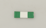 Ribbon pin. Fabric GUARDIA CIVIL BLANCO