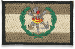 Gray Spain flag with LEGIONARIOS logo