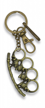 Key ring BRASS KNUCKLES zamak