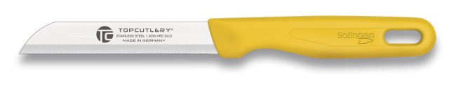 cuchillo Top Cutlery Solingen amarillo