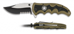 Pocket knife ALBAINOX black-coyote