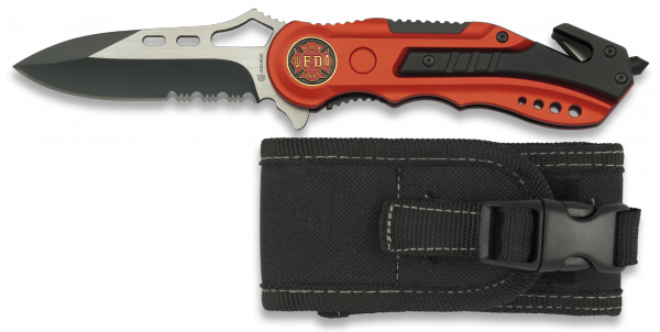 Pocket knife ALBAINOX. FIRE DEPT.