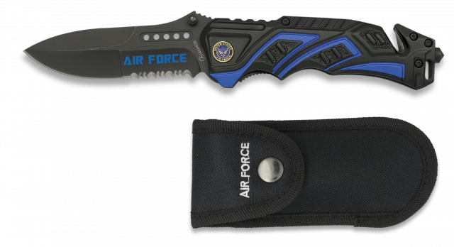 Navaja Albainox AIR FORCE Color Azul