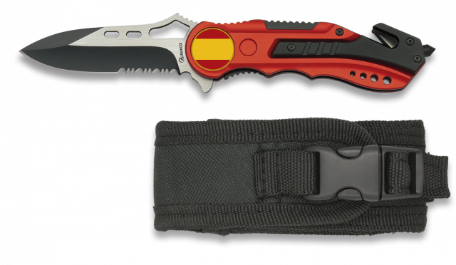 Pocket knife ALBAINOX. Red GR1018