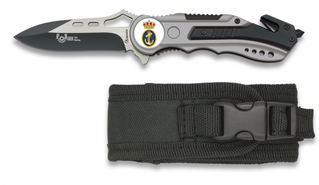 POCKET KNIFE ALBAINOX GREY-FAST OPENING