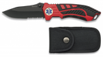 Pocket knife ALBAINOX red-black
