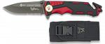 Pocket knife RUI red/black FAST OPENING