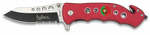 POCKET KNIFE ALBAINOX RED-FAST OPENING