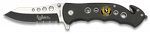 POCKET KNIFE ALBAINOX BLACK-FAST OPENING