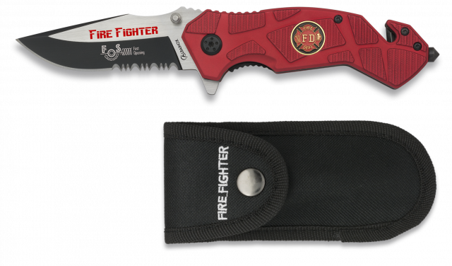 POCKET KNIFE ALBAINOX FIRE FIGHTER-FAST OPENING