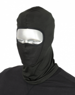 Grid fleece balaclava BARBARIC. Black