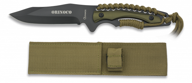 Survival knife ALBAINOX. STONE FINISHED