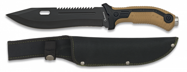Tactical knife ALBAINOX coyote