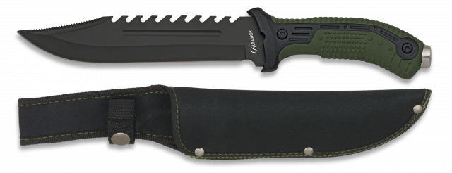 Tactical knife ALBAINOX green