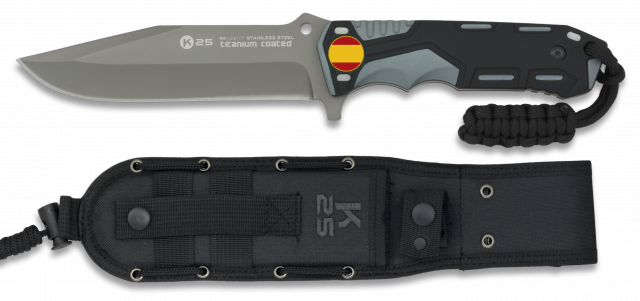 TACTICAL KNIFE RUI GREY/BLACK