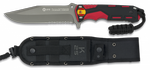 TACTICAL KNIFE RUI RED/BLACK