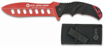 Knife K25 training red. Aluminium