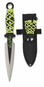 3 throwing knives set. MAD ZOMBIE