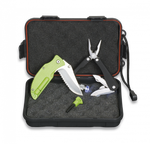 SET: Box+Pliers+Pocket knife+Fire starter