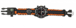 Paracord survival watch BARBARIC. Camo
