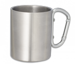 Metalic cup with carabiner BARBARIC