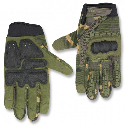 Tactical gloves MASTODON COMBAT COPS camo