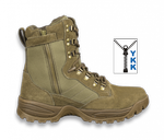 Tactical boots TASER. Army. zipper. Professional 4