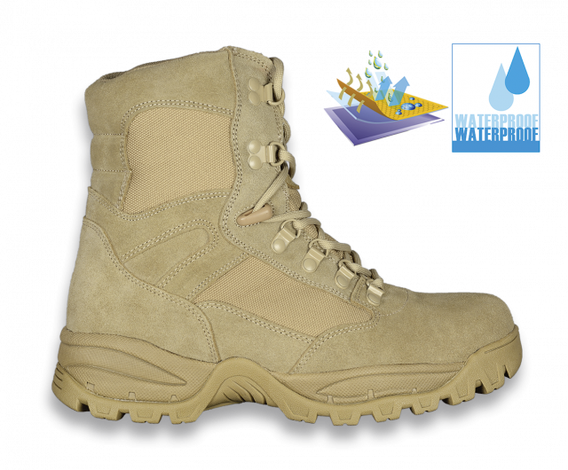 Bota TASER TAN THUNDER. waterproof T: 43