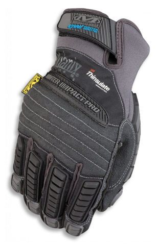 GUANTE MECHANIX WINTER NEGRO M