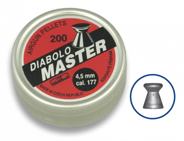 Airgun Pellets DIABOLO MASTER 4.5 (200pcs)