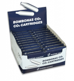 display de 100 cargas de Co2