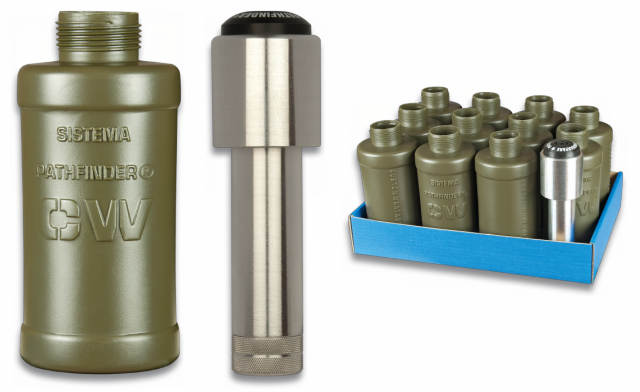 granada co2 Pathfinder + 11 carcasas