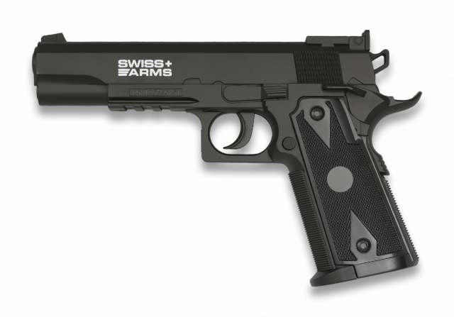 Airsoft Pistol. SWISS ARMS 941 CO2 4.5mm Semi-Auto