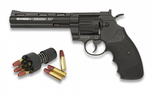 revolver SWISS ARMS 357-6 metal 4.5mm