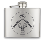Hip flask ALBAINOX 5 oz Guns